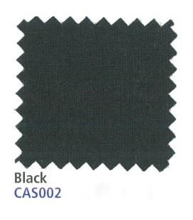 CASEMENT LÆRRED BLACK 122CM + 125G/M²